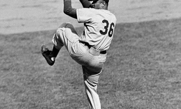 Don Newcombe's consecutive scoreless innings streak is snapped at 39 2/3' but theDodgerrighty wins his 18th of the year and 9th in a row' beating thePhils' 5 – 2.Stan Lopata's two-run homer in the 7th is the Quaker scoring.