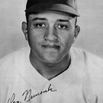 For the third time in his career, P Don Newcombe hits two home runs in one game, in a 17 - 2 laugher. The win puts the Dodgers a half game in front of the Braves.