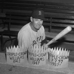 Ted Williams hits three home runs in the Boston Red Sox' 9-3 win over the Cleveland Indians