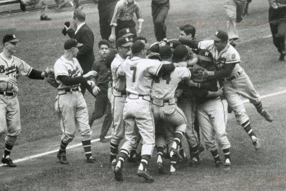 In Game 3 of the World Series, Lew Burdette wins the first of his three decisions against the Yankees. Burdette and the Milwaukee Braves beat Bobby Shantz, 4 – 2.