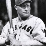 Hack Wilson, who set National League records last season when he drove in 191 runs and hit 56 signs for $35,000.