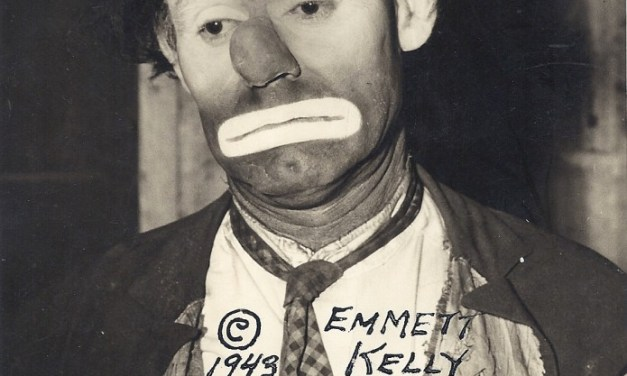 Emmett Kelly, the Dodgers' resident 'tramp' in Brooklyn, announces his contract has not been renewed