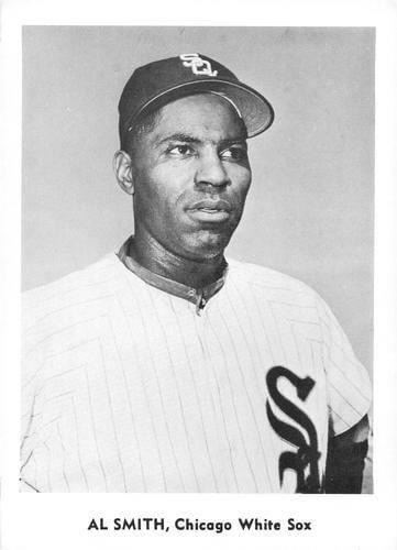 """It's """"Al SmithDay"""" atComiskey Park, with every fan named Smith, Schmidt, Smythe or Smithe admitted free and given a button stating """"I'm a Smith and I'm for Al."""" Smith himself doesn't help, going hitless as theWhite Soxlose toBoston, 7 – 6.Bill Monbouquetteis the winner."""