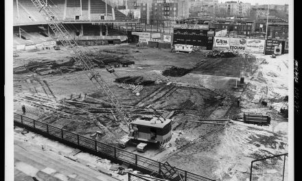 Demolition of Ebbets Field begins