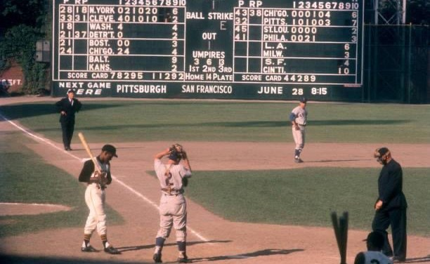 AtForbes Field,CubsrookieRon Santo, making his major league debut, leads Chicago to a sweep of the first-placePirates. Santo is 3 for 7 and drives in five runs as the Cubs win, 7 – 5 and 7 – 6.