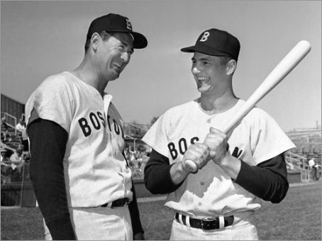 Boston Red Sox announce that rookie Carl Yastrzemski will start the season in left field, succeeding the legendary Ted Williams