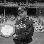 For the second consecutive year,New York YankeesoutfielderRoger Marisis namedAmerican League Most Valuable Player