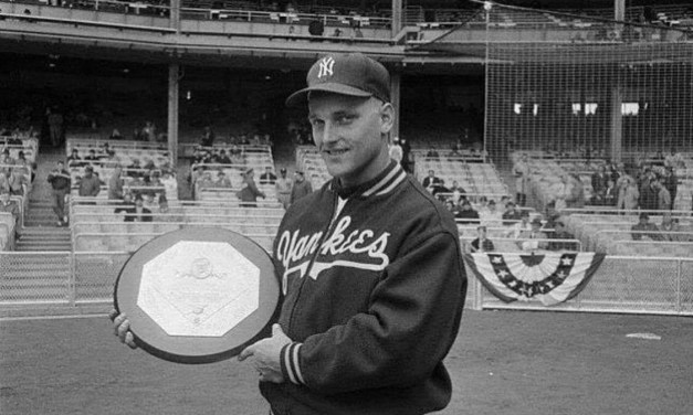 For the second consecutive year, New York Yankees outfielder Roger Maris is named American League Most Valuable Player