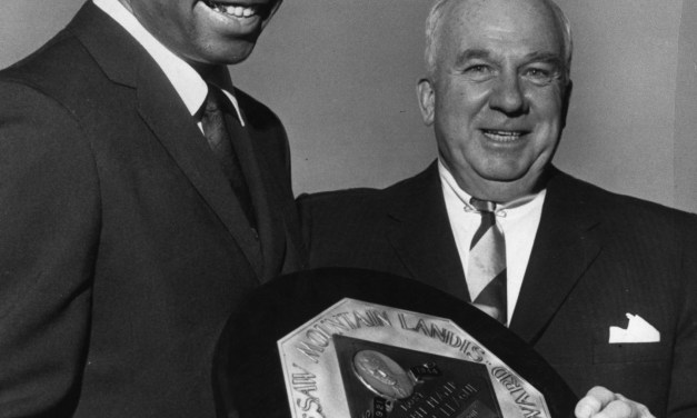 Frank Robinson of the Cincinnati Reds is a near-unanimous selection as MVP