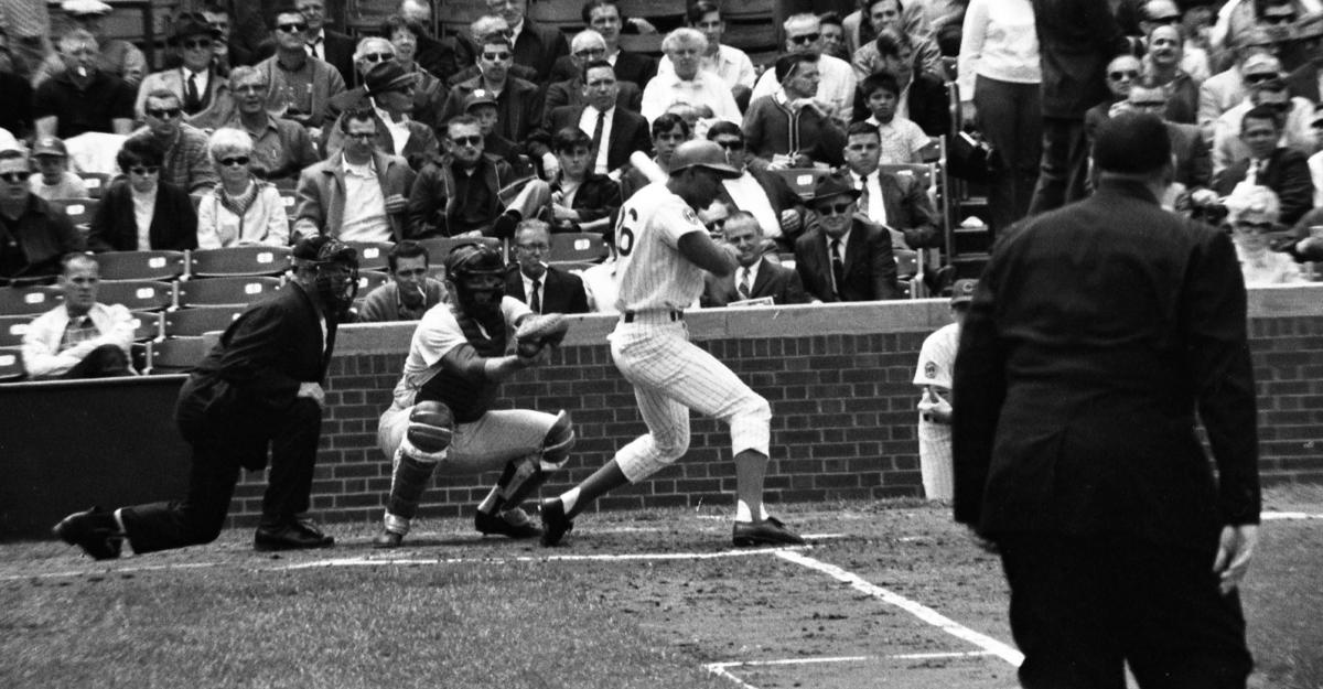 CubsoutfielderBilly Williams(.278, 25, 86) is selected as the1961 National League Rookie of the Year.