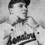The all-time shortest managerial career ends after one game - a loss - when Eddie Yost, who replaced Mickey Vernon (14-26) as the Senators' pilot, is replaced by Gil Hodges. Hodges was acquired today from the Mets, who receive veteran Jimmy Piersall in return.