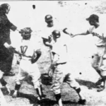 Mays hits titanic blast @ Polo Grounds - his last homerun at his former home propels Giants into first place