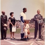 """Mayor Richard Daley declares """"Ernie BanksDay"""" in Chicago and 26,000 fans cheer theCubs'slugger. Banks then goes hitless asPittsburghwins, 5 - 4."""