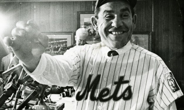 Yogi Berra signs a two-year contract with the Mets as a player-coach