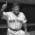 Casey Stengel records his 3,000th victory as a manager as the Mets beat the Giants, 7 - 6.