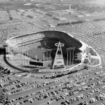 The California Angels play their first game at Anaheim Stadium. Rick Reichardt of the Angels hits the first home run in the new ballpark, but California loses the game, 3 - 1, to the Chicago White Sox.