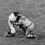 After walking on a 3-2 count, which included pitches sailing over his head to the backstop and a ball being thrown behind him, Dick McAuliffe charges the mound and drives his knee into White Sox hurler Tommy John, causing the pitcher's shoulder to separate. Tommy John (10-5, 1.98) will be lost for the rest of the season, and the Tigers' shortstop is suspended for five games and fined $250 by AL president Joe Cronin as a result of the bench-clearing incident.