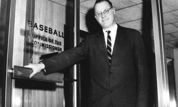 Bowie Kuhn is named commissioner of Baseball