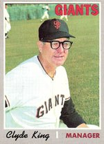 San Francisco Giants fire manager Clyde King after a heartbreaking 17-16
