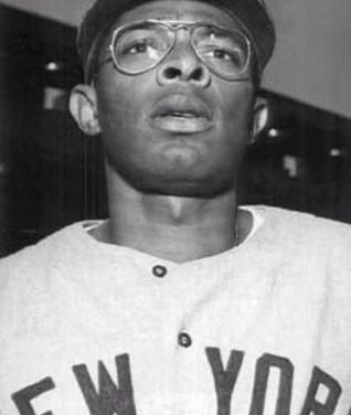 Horace Clarke of the New York Yankees breaks up a no-hitter for the third time in a month