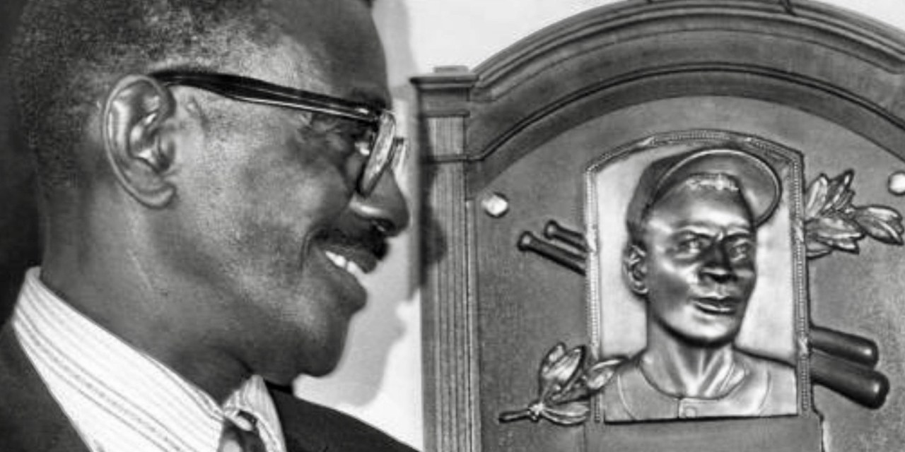 Satchel Paige becomes the first Negro League star selected to the Hall of Fame
