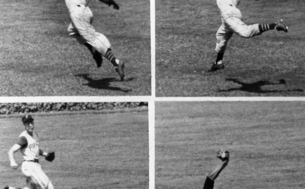 """""""If they ever want to rate the 10 greatest catches of all time,"""" One of the top 10 catches of all time – Roberto Clemente's fantastic catch ofBob Watson'sline drivein Houston'sAstrodome"""