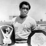Vida Blue 1971 MVP and Cy Young Award