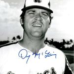 The Atlanta Braves release former 30-game winner Denny McLain, ending his career at the age of 28