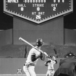"California's Nolan Ryan strikes out 12, including the side in the 1st, and hurls his first career no-hitter in beating Kansas City, 3 - 0. For C Jeff Torborg, it is his third no-hitter. SS Rudy Meoli preserves the no-no with a spectacular over-the-shoulder catch in the 8th. It is the first of a record seven no-hitters the ""Ryan Express"" will throw during his career, including another one in two months."