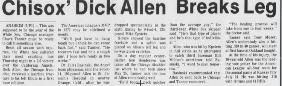 Dick_Allen_breaks_leg