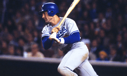 Steve Garvey of the Los Angeles Dodgers collects a single and double to lead the National League to a 7-2 victory in the All-Star Game