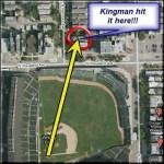 Kingman hits 600 foot blast at Wrigley Field