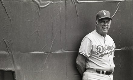 Los Angeles Dodgers name Tommy Lasorda as manager, replacing the retired Walter Alston.