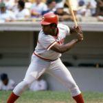 Game action batting of Cincinnati Reds Dan Driessen, 1978