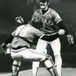 Dennis Eckersleypitches ano-hitteras theCleveland Indiansbeat theCalifornia Angels, 1 - 0.Frank Tanana, with threeshutoutsin his last four games, is the loser.