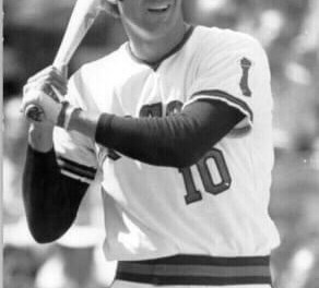 The Angels acquire slugger Dave Kingman from San Diego for cash consideration. Nine days later, the Yankees will buy Kingman, making him the first player to wear four uniforms in four divisions in the same year. Kingman, who started the season with the Mets, will hit 26 home runs to set the mark for the most by a player with more than two teams.