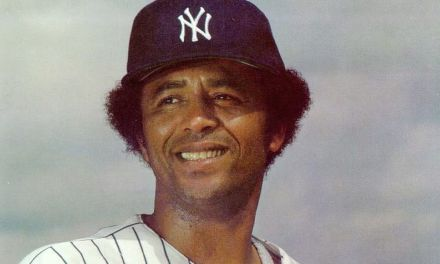 """New York Yankees sign two veteran free agents to long-term contracts: first baseman Bob """"The Bull"""" Watson and pitcher Rudy May"""