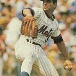 Mets starter Pete Falcone sets a franchise record when he strikes out the first six batters he faces