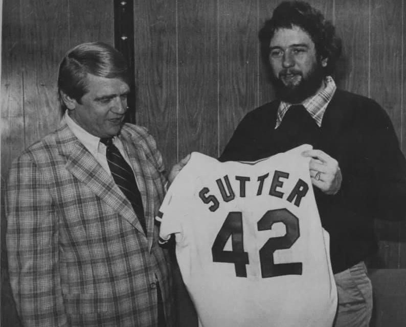 TheCubstrade relieverBruce Sutter, the1979 National League Cy Young Awardwinner to theCardinalsfor 3BKen Reitz, OF-1BLeon Durham