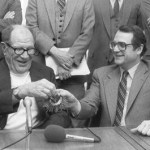 1981-American Leagueowners approve the sales of two franchises, theChicago White SoxtoJerry ReinsdorfandEddie Einhornfor $20 million, and 80 percent of theSeattle MarinerstoGeorge Argyrosfor $10.4 million.