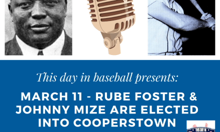 Veterans Committee elects slugger Johnny Mize and Negro Leagues pioneer Rube Foster to the Hall of Fame