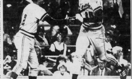 In his first major league game, first baseman Kent Hrbek hits a twelfth-inning homer, giving the Twins a 3 – 2 victory over the Yankees.