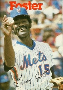 the New York Mets come to terms with slugging outfielder George Foster on a five-year contract, thereby completing a four-player trade with the Cincinnati Reds. The Mets had already agreed to send catcher Alex Treviño and pitchers Greg Harris and Jim Kern to the Reds for the power-hitting Foster.
