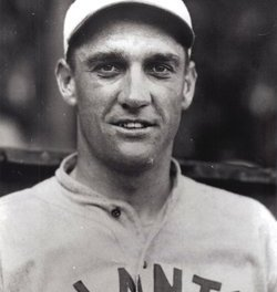 "George ""High Pockets"" Kelly of the New York Giants hits a home run in his sixth consecutive game"