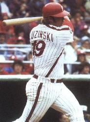 Philadelphia Phillies slugger Greg Luzinski announces his retirement