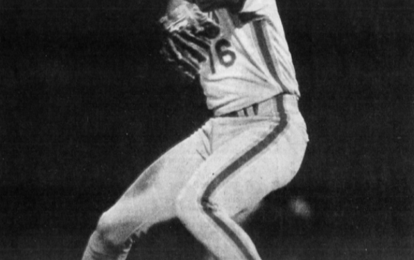 Dwight Gooden, with the Mets' 5-3 victory over the Expos, wins his 100th career game. Gooden's 100-37 career total at the century mark is second only to Hall of Famer Whitey Ford's 100-36 start with the Yankees in 1958.