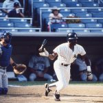 Claudell Washington hits the 10,000th home run in New York Yankees