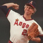 California Angels right-hander Don Sutton wins his 300th career game