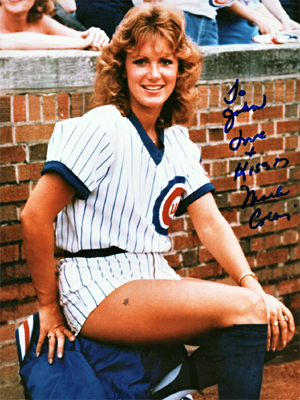 TheCubsfire their ball girl, Marla Collins, when it is revealed that she posed nude forPlayboymagazine