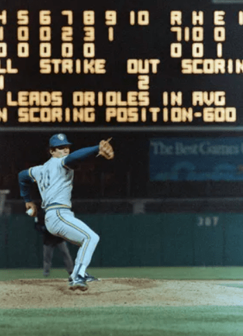Juan Nieves first no hitter in Milwaukee Brewer History
